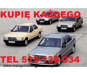 Skup Mercedesów 124 190 lub Sprinter